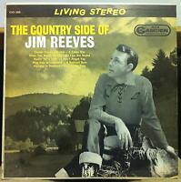 JIM REEVES the country side of LP VG+ CAS-686 Living Stereo USA 1962 B&W Cover