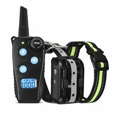 New listing Fimitech Dog Training Collar, Newest Dog Shock Collar with 1000 ft Remote, Beep,