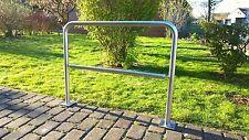 NEU! Edelstahl Fahrradständer Anlehnbügel - Mo. City Premium - zum Einbetonieren