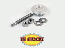 Quik-Latch Mini Hood Pin System - Brushed Billet Aluminum - QL-25-S