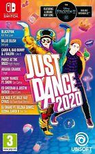 Just Dance 2020 Nintendo conmutador nuevo embalaje original