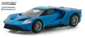 Greenlight 1:64 2017 Ford GT - Blue (Hobby Exclusive)