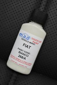 FIAT 268/A BIANCO BOSSA NOVA TOUCH UP KIT REPAIR KIT PAINT WITH BRUSH SCRATCH
