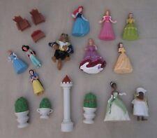 Disney Store Princess Deluxe Figurine Playset PVC Figures SET Cake Topper Lot