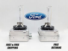Front HID Headlight Bulb For Ford Edge 2011-2017 Low & High Beam Stock Qty2