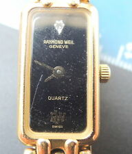 Gold Plated Case Dress/Formal RAYMOND WEIL Wristwatches