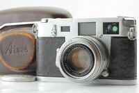 *Exc+++* Aires 35 III C Rangefinder Camera H Coral 4.5cm F/1.9 Lens From Japan