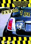 adesivo adesivi abarth stickers tuning scorpione auto fiat 500 moto BIANCO WHITE