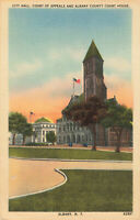 Postcard City Hall Court Of Appeals Albany County Court House Albany New York