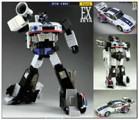 IN STOCK!New Transformers Toys Zeta EX-03 Jazz G1 MP Scale action figure toy