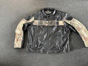 Genuine Xxl Rare Harley Davidson Jacket