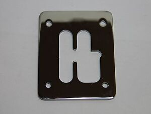 CLASSIC FIAT 500 126 GEAR LEVER GAITER SELECTOR METAL CHROME - BRAND NEW
