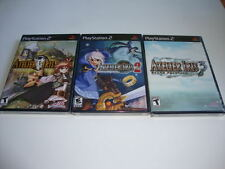 Atelier Iris Trilogy 1 - 2 - 3 - NEW SEALED Sony Playstation 2 RARE