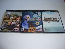 Atelier Iris Trilogy 1 - 2 - 3 - NEW SEALED Sony Playstation 2 RARE