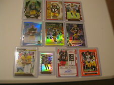 GREEN BAY PACKERS JONES AARON RODGERS FAVRE ADAMS NUMBERED ROOKIE RC CARD LOT