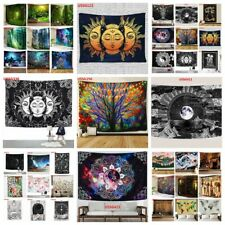 Hippie Trippy Mandala Tapestry Wall Hanging Art Blanket Tapestries Home Decor