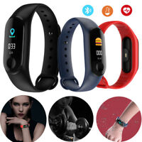 Bluetooth Smart Watch Band Sports Bracelet Fitness Activity Tracker For Boy Girl