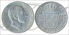 España - Monedas centenario- Año: 1880 - numero 00079 - BC Alfonso XII (Filipina