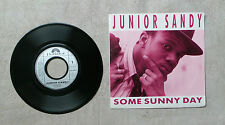"""VINYLE 45T 7"""" SP MUSIQUE INT PROMO / JUNIOR SANDY """"SOME SUNNY DAY"""" 1988 POLYDOR"""