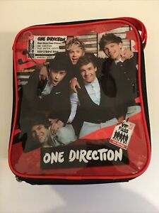 One Direction Lunch Box Back Pack With Snack Bowl.