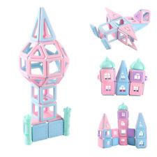 101PCS Magnetic Building Blocks Tiles Construction Stacking Toy Set Game 3D