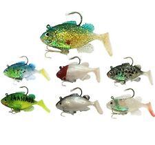 2Pcs Jig Head Silicone Soft Fishing Lures 20g Bass Swimbaits Hooks Baits Iscas