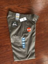 DOCKERS 469670058 IRON FREE STRAIGHT FIT FLAT FRONT PANT MENS 29X30 GRAY NEW