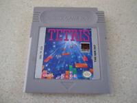 Original Nintendo Gameboy game: TETRIS Authentic Cartridge GB Games Tested