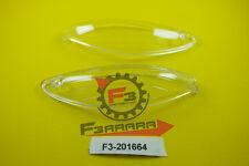 F3-2201664 Coppia VETRI FRECCE Anteriore Piaggio X9 - 125 200 250 500  NEUTRO Sc