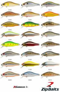 Zipbaits Khamsin Jr. 50 SR 5cm 4g Fishing Lures (Choice Of Colors)