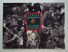 Canada Remembers WWII 50th Anniversary 6 Medallion Set Through the Painters Eye
