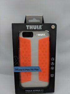 Apple IPhone 6 Plus 6S Plus Case Thule Atmos X3  Orange & White NEW Fast Fee Pos