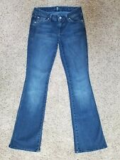SEVEN FOR ALL MANKIND womens A Pocket skinny Bootcut jeans size- 26 - 27 x 32  7