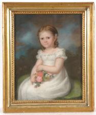 """Heinrich Abel Seyffert (1768-1834) """"Portrait of Emma von Norbert at the age of 4"""