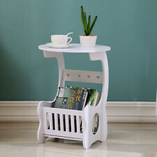 DIY Tea Coffee Table Side Desk Tray Furniture Decor Book Plant Shelf Storage