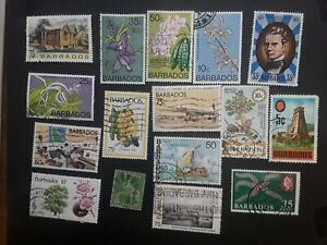 Barbados stamps 32 used