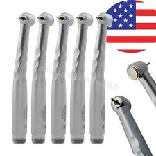 X5pcsX US Push button large Torque 2 Hole 3w Dental High fast Speed handpiece