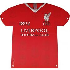 Liverpool F.C - Metal Shirt Sign (LB) - GIFT / PLAQUE