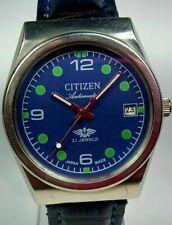 Vintage Citizen 21J Automatic Movement Date Dial Mens Analog Wrist Watch U58