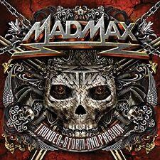 MAD MAX - THUNDER,STORM & PASSION 2 CD NEU