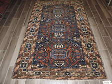 5x7ft. Antique Tribal Caucasian Kuba Kazak Wool Rug