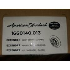 "AMERICAN STANDARD 1660140.013 ""EXTENDER"" BODY SPRAY-SQUARE- POLISHED NICKEL"