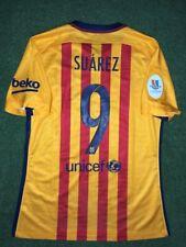 Barcelona Suarez Prepared For Match Shirt Final SÚPer Copa de EspaÑA 2015