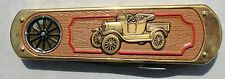 Franklin Mint 1925 Ford Model T Car Folding Knife with Bag