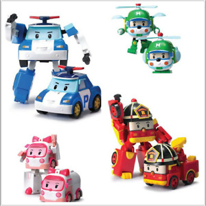 Robocar Poli Transformation Robot Car Toys South Korea Cartoon Kids Gift New LC