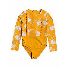 Roxy Kids Swin Suit Girls Candy Long Sleeved Back Zip  sz 5