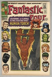 Fantastic Four #54 Sept 1966 VF/NM Black Panther