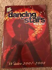 Dancing With the Stars 2007-08 Tour Program Derek Hough Mark Ballas Drew Lachey