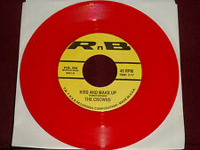 """THE CROWNS """"Kiss And Make Up"""" RnB 6901 Red Wax!"""