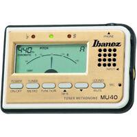 Ibanez MU40 Dual Purpose Metronome and Tuner Guitar Bass Ukelele